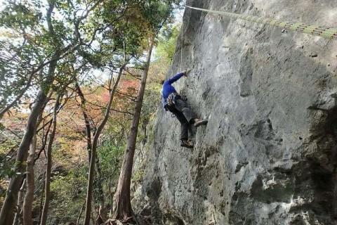 ≪ワンデルング≫[京都]外岩チャレンジクライミング【入門】