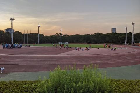 【RunField】ロングインターバルトレーニング3000m×8本@織田F(東京)(10月17日)