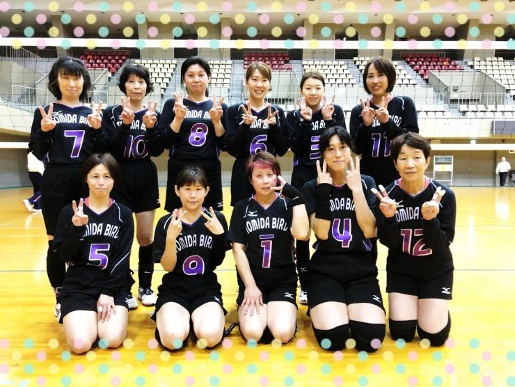 ママさんバレーボールチーム 富田バードです
