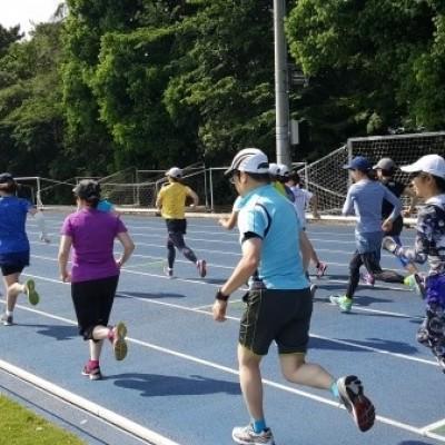 マラソン完走クラブ 5000Mトライアル+400Mトライアル(世田谷大蔵陸上競技場)