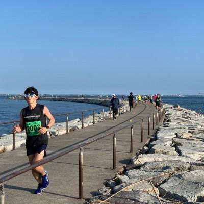 愛知県 第1回 ラグーナビーチ年忘れ30キロアンドハーフマラソン