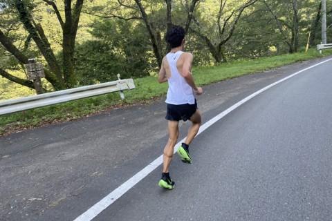 福田穣と走る30km走
