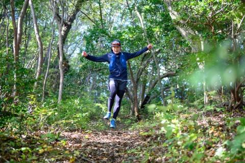 SALLYS RUNNING DEPT. 1周年記念イベント 小出徹選手と行く二上山トレイルツアー