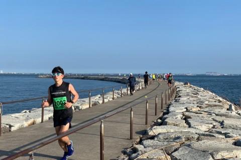 愛知県 第1回 春らんまんラグーナビーチ フルアンドハーフマラソン