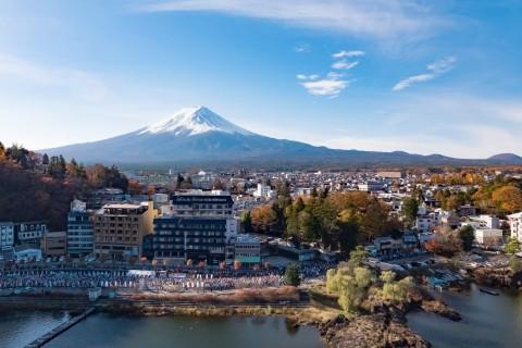 富士山マラソン2020TATTA RUN(オンラインマラソン)河口湖フィニッシュ