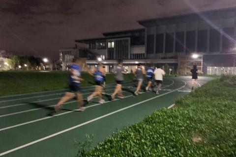 《夕方開催》サブ3:00~3:20の為の5分間疾走練(最大酸素摂取量強化)
