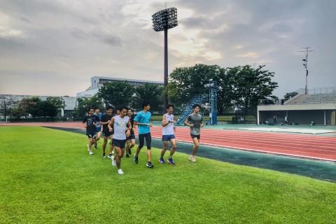 SPC練習会in浦和駒場(10000mペース走)