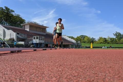 """福田 穣とスピード練習 400m×〇本 (68""""〜70"""")あなたの走力に応じてその場で本数考えます"""