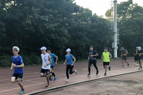 片岡純子のサブ4~3.5練習会~基礎作り&1000mインターバル