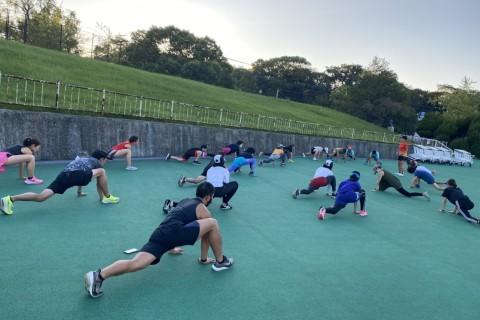 プロランナー福田 穣と動きづくり、ジョギングしましょう!