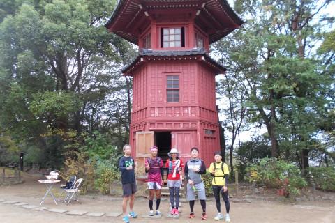 世界で唯一、中野だけ!東洋大学の創立者=井上円了が造った哲学を楽しむ公園も巡る10km観光ラン