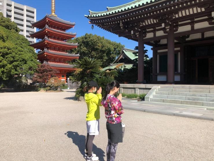 東長寺の五重塔