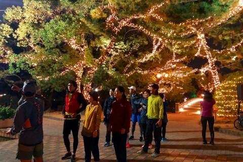 【ナイトラン】今年最後のナイトラン(6〜7kmほど)【STRIDE LAB 福岡】