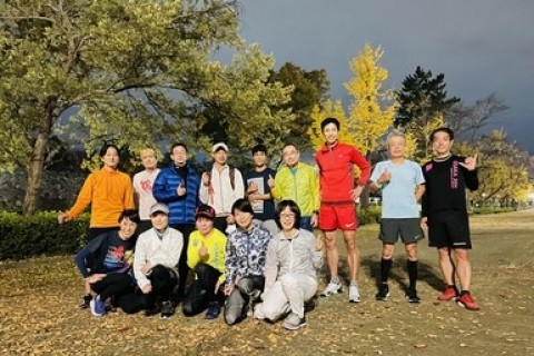 はじめての大阪城ランニング練習会マラソンフォーム「カイゼン」