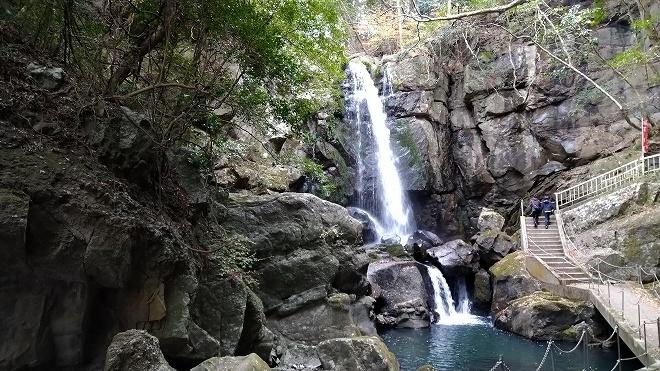 洲本市「鮎屋の滝」ロングコース