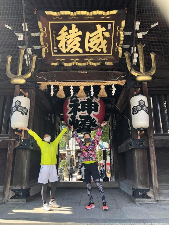 櫛田神社に到着!