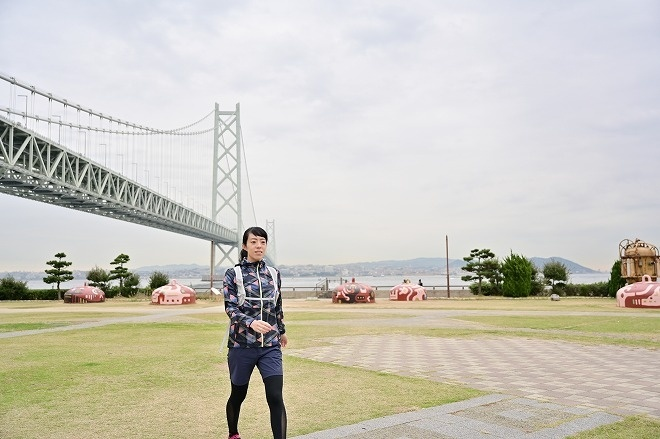 淡路市「花さじき~明石海峡大橋」コース