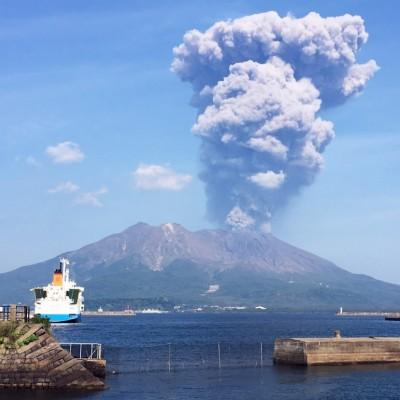 桜島一周ランニング2021