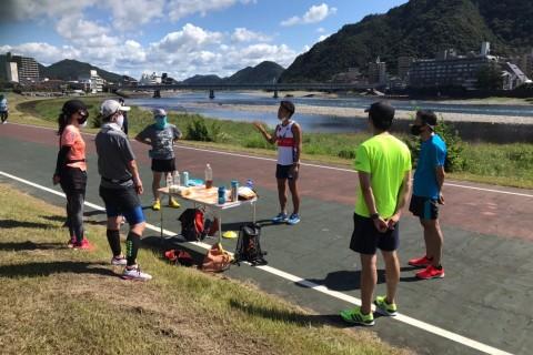 沖コーチの小松ドーム(石川県)ランニングパフォーマンスアップ練習2