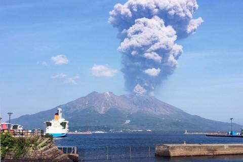 リベンジ桜島一周ランニング2021