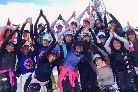 Women'sマラソンコース試走会