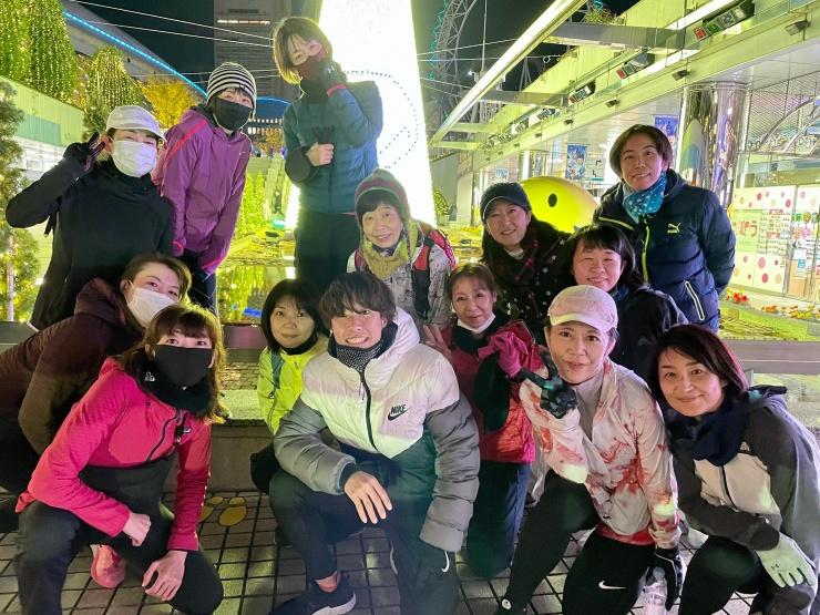 2020.12/19(土)【クリスマス先取り】温泉発着!イルミRUN