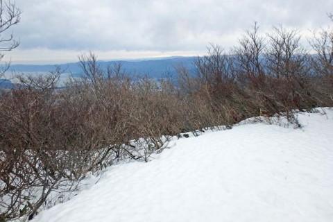 ≪ワンデルング≫[福井]雪の敦賀富士(野坂岳)から加賀白山を望む!【中(初)級】