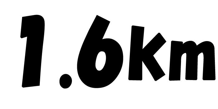 石垣市中央運動公園周回1.6kmコース