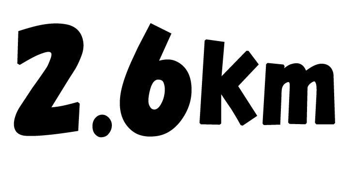 石垣市中央運動公園周回2.6kmコース