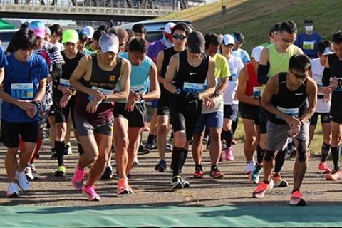 【大阪国際女子マラソンでも走った】アスリートマラソンinヤンマースタジアム長居【参加賞はTシャツ】