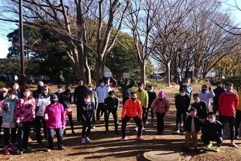 【サブ345〜サブ4】2/23(火・祝)「30km走」@駒沢公園