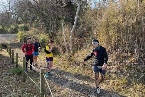 成瀬康夫のトレイルランニング基本技術習得セミナー (初級者向け) in鎌倉