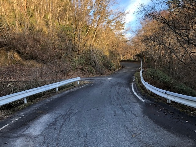 周回コースここを直進するとやぶっちゃの湯になります。左手の道へ