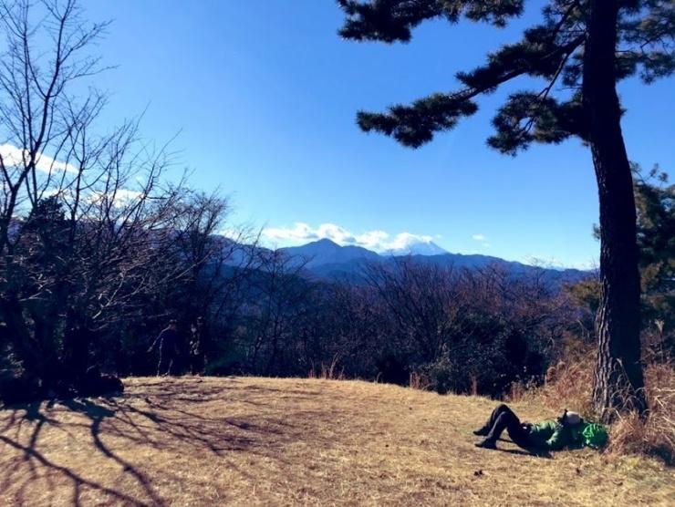 小仏城山から富士山の絶景