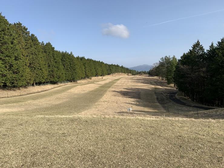 近隣ゴルフ場跡地クロカンコース