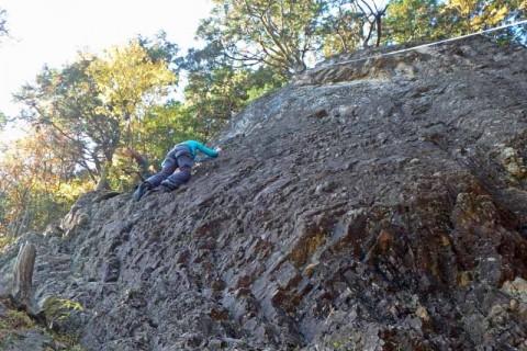 ≪ワンデルング≫[京都]外岩チャレンジクライミング(2)【入門】