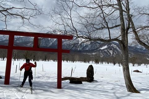 春の信越クロスカントリースキーキャンプ for TrailRunner