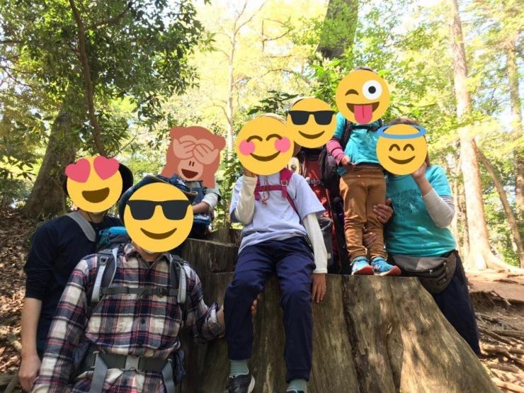 2組のご家族を高尾山にご案内しました