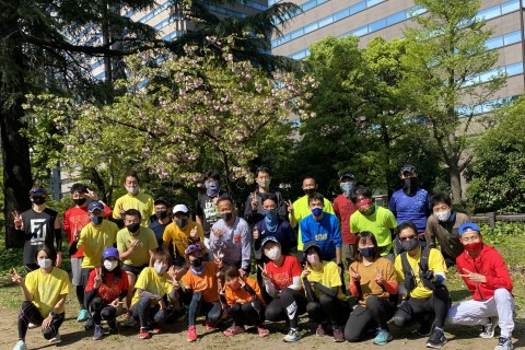 第2回 JAPAN ULTRAMARATHON CHALLENGE SERIES 練習会