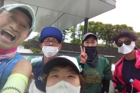 10キロペース走(キロ6分ペース)@皇居外苑