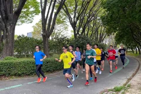 Runupハーフマラソン練習会in庄内緑地公園