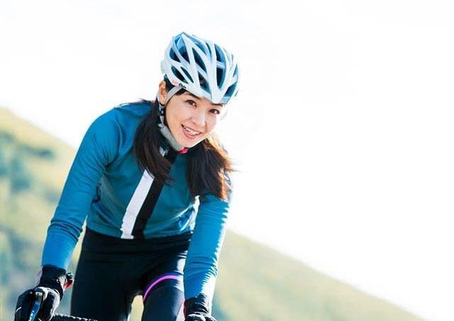 土曜日11時の部は、モデル業の傍ら、サイクリストとして活躍している日向涼子さんが一緒に走ります!!