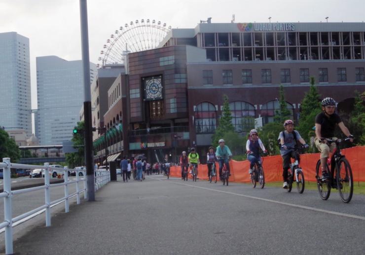 横浜の街をぐるっとe-Bikeで走ります