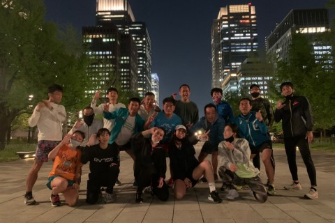 森川千明主催イベント】C-Shine run@二重橋