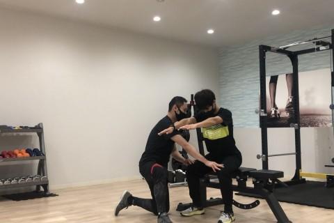 オリンピック選手指導経験もあるプロトレーナーによるトレーニング会