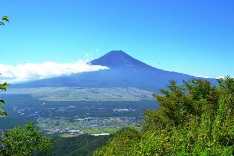 [富士山に行こう・山梨]富士山ガイドと行く講習付き登山 杓子山