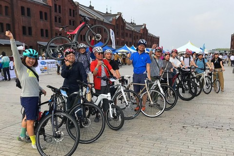 ヨコハマe-Bike ツアー in ヨコハマサイクルスタイル2021