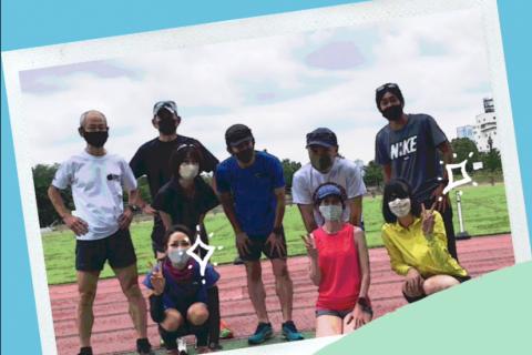 ランニング効率の改善!あなたの走りが進化します!@済美山陸上競技場