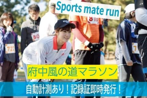 第1回スポーツメイトラン府中多摩川風の道マラソン大会【計測チップ有り】