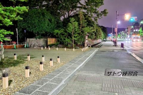 京都御苑で頑張る練習会 ペース走&スピ練 16~12キロ【サトウ練習会】